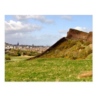 Arthur's Seat, Edinburgh Postcard