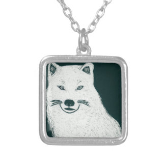 Artic Wolf.jpg Personalized Necklace