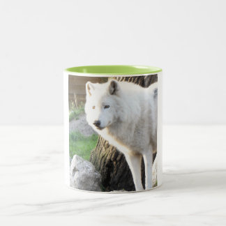 ARTIC WOLF Two-Tone COFFEE MUG