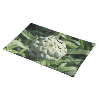 Artichoke and Leaves. Placemat