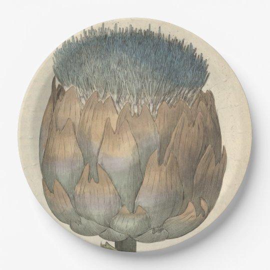 Artichoke Paper Plate