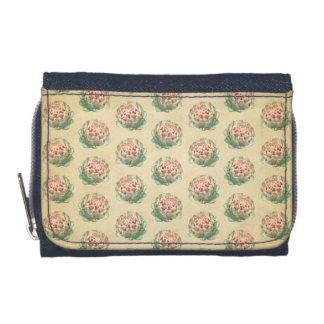 Artichoke Pattern with a Vintage Style Look. Wallet
