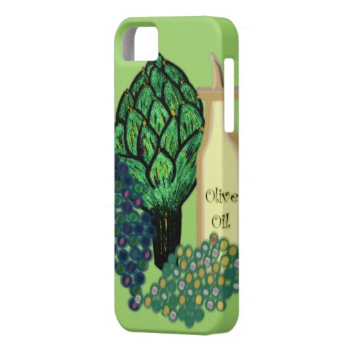 Artichokes, Grapes & Olive Oil iPhone 5 Covers