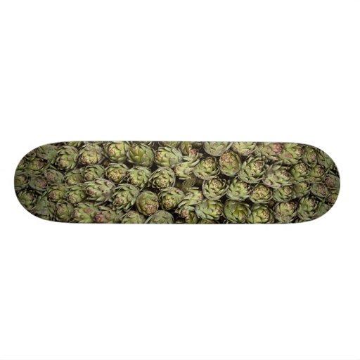 Artichokes Photo Skate Board Deck