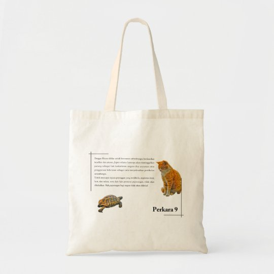 Article 9(Bahasa Malay edition) Tote Bag