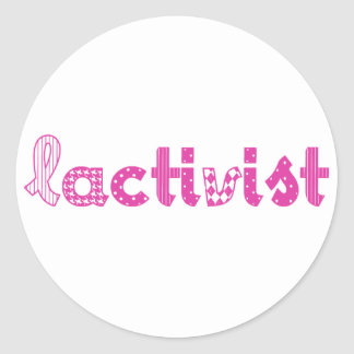 Articles /Breastfeeding pro-lactation advocacy Classic Round Sticker