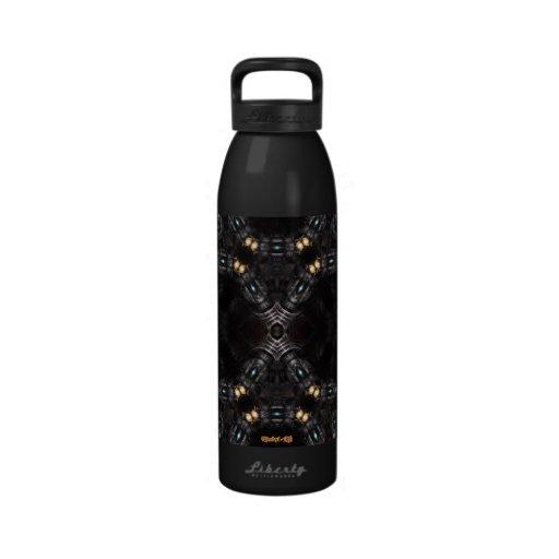 Articulated Plasma Mech Torch Water Bottle