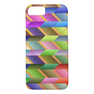 Articulated triangles iPhone 7 case