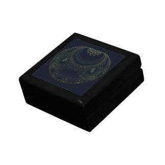 Artifact Abstract Art Small Square Gift Box