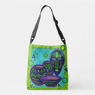 Artifact African Pop Art Crossbody Bag