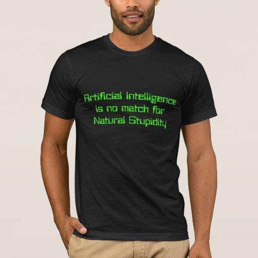 Artifical vs Natural T-Shirt
