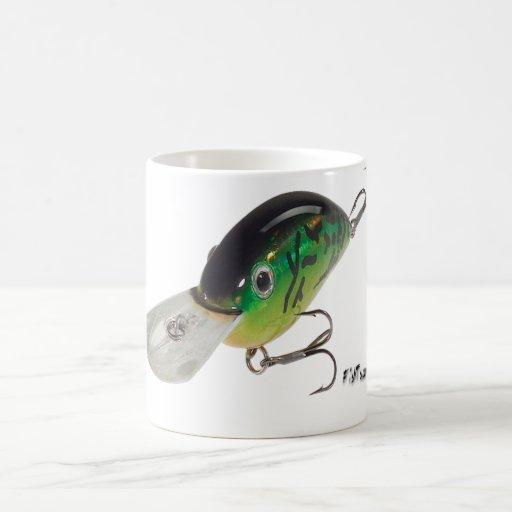 Artificial Bait, Tackle, Fishing Gear Basic White Mug