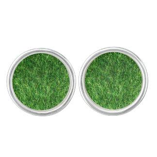 Artificial Grass Cufflinks