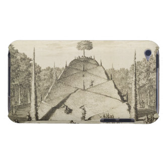 Artificial Mount Parnassus, engraved by Johannes V Case-Mate iPod Touch Case