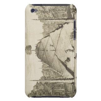 Artificial Mount Parnassus, engraved by Johannes V iPod Case-Mate Case
