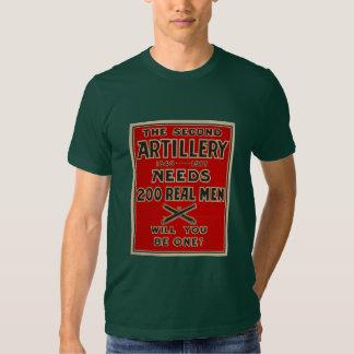Artillery Call to arms World War One T-shirt