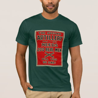 Artillery Call to arms World War One T-shirt