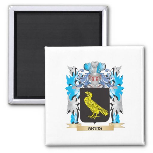 Artis Coat Of Arms Refrigerator Magnets