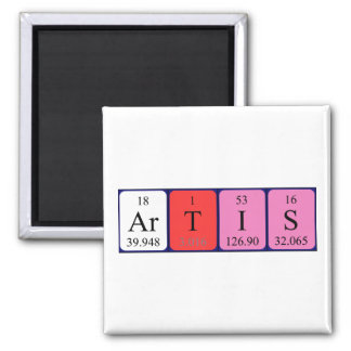 Artis periodic table name magnet