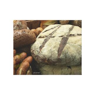 artisan bread 1 canvas print