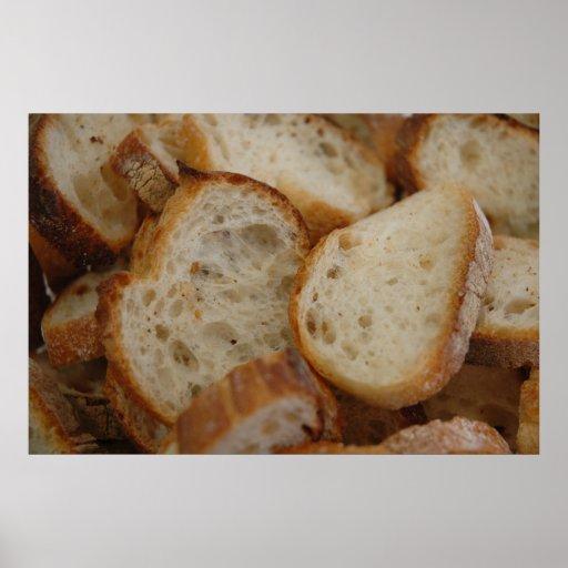 Artisan Bread Slices Print