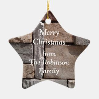 Artisan Masonry Family Christmas Christmas Ornament