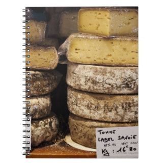 artisan regional french cheeses spiral notebook