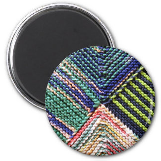 Artisanware Knit 6 Cm Round Magnet