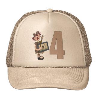 Artist 4th Birthday Gifts Trucker Hat