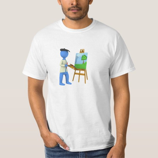 Artist and Easel T-Shirt