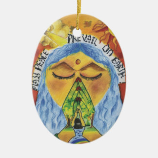Artist Anjali ~ Age 11 ~ India Christmas Ornament