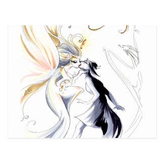 Artist as Goddess Postcard
