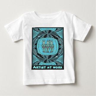 Artist at work - African Art Baby T-Shirt