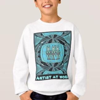 Artist at work - African Art Sweatshirt