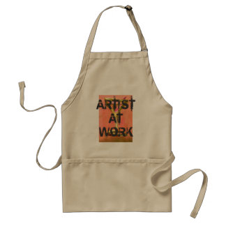 Artist At Work Apron 7 Painting Creating Art Craft Standard Apron