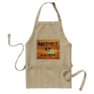Artist At Work Apron 9 Painting Creating Art Craft