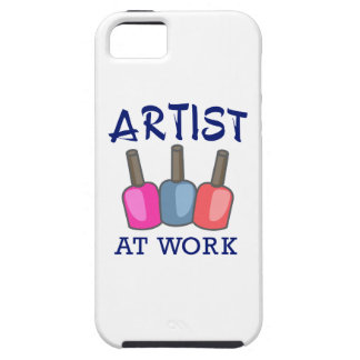 ARTIST AT WORK iPhone 5 CASES