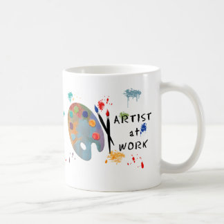Artist At Work Coffee Mug