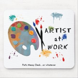 Artist At Work Mouse Mat