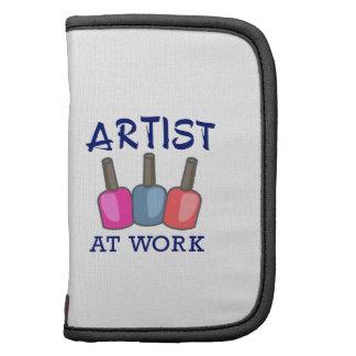 ARTIST AT WORK ORGANIZERS