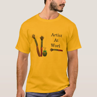 Artist At Work T Shirt