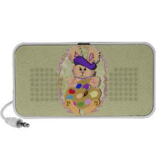 Artist Bunny Portable Speakers