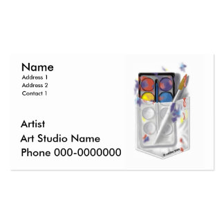 Artist Pack Of Standard Business Cards