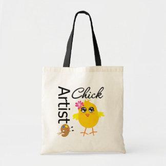 Artist Chick Budget Tote Bag