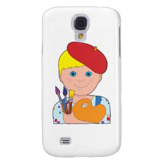 Artist Child Boy Samsung Galaxy S4 Case