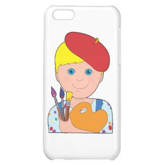 Artist Child Boy Case For iPhone 5C