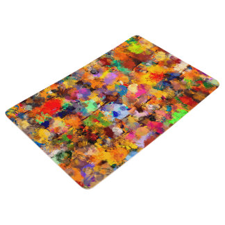 Artist Color Abstract Art Dab Floor Mat