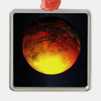 Artist concept of Kepler-10b Christmas Ornament