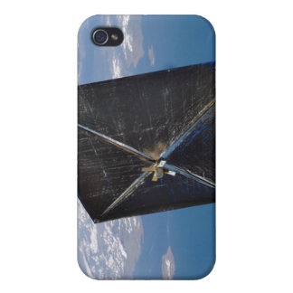 Artist concept of NanoSail-D in space iPhone 4 Case
