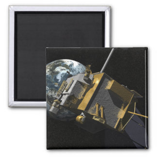 Artist Concept of the Lunar Reconnaissance Orbi 2 Square Magnet